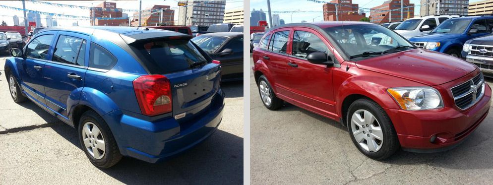 used-dodge-caliber-blue-red
