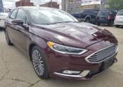 2017 Ford Fusion SE LEATHER AWD Car